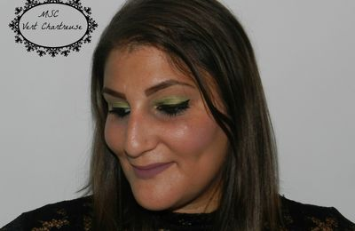 Sparkling Green Make-Up / Monday Shadow Challenge