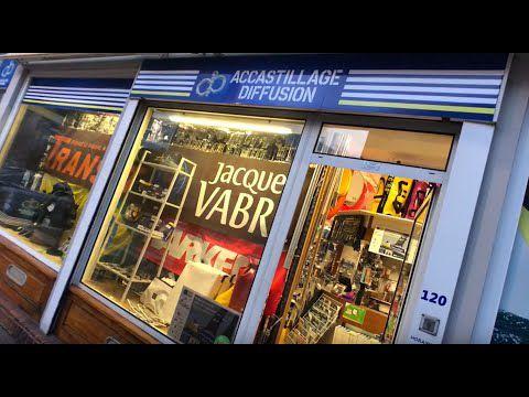 Le Havre - visite guidée du magasin Accastillage Diffusion, une caverne d'Ali Baba pour plaisanciers
