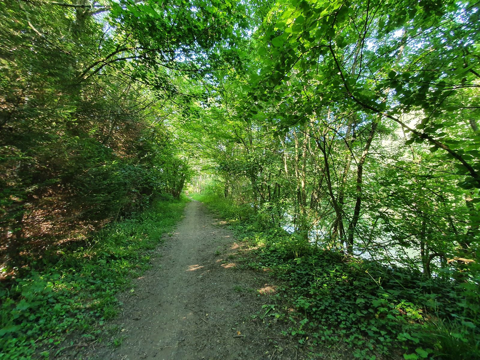 Le long de la Marne, à Vitry-le-François
