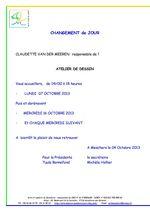 ATELIER DE DESSIN - Modification