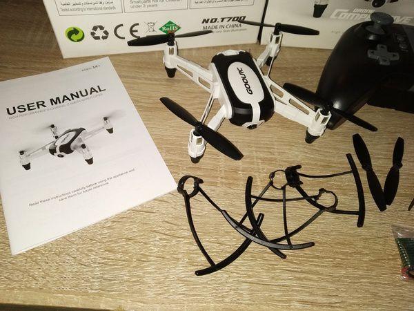 test du drone GoolRC T700 Mini RC Quadcopter avec caméra HD 720p @ Tests et Bons Plans