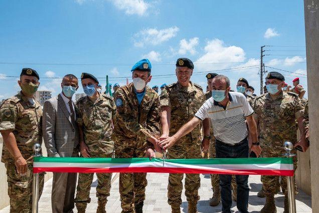 Libano:militari italiani ristrutturano centro medico per le Forze Armate libanesi