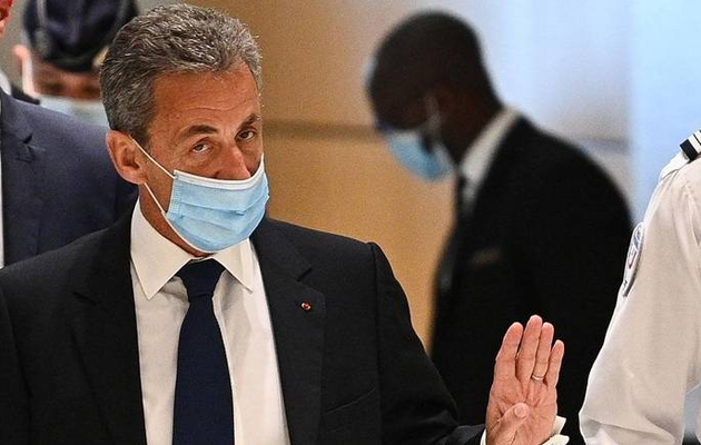 Former French president Sarkozy convicted of corruption, sentenced to jail