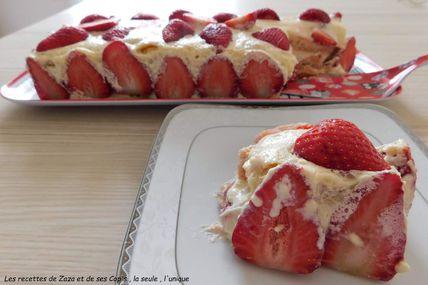 """Tiramisù"" aux fraises"