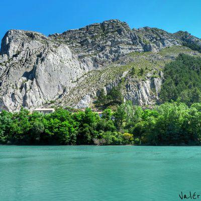 Le Rocher de la Baume. Sisteron