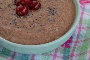 """Crème végétale à la """"poudre de chufas"""" (noix tigrées) façon pudding"""