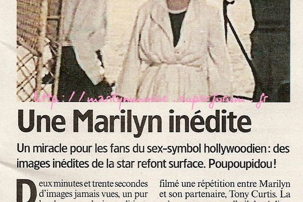 Une Marilyn inédite