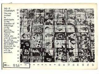Do-it yourself de-collage @ Wolf Vostell. 1963