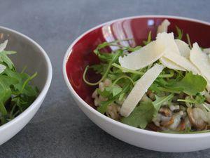 Risotto aux champignons naturellement sans gluten