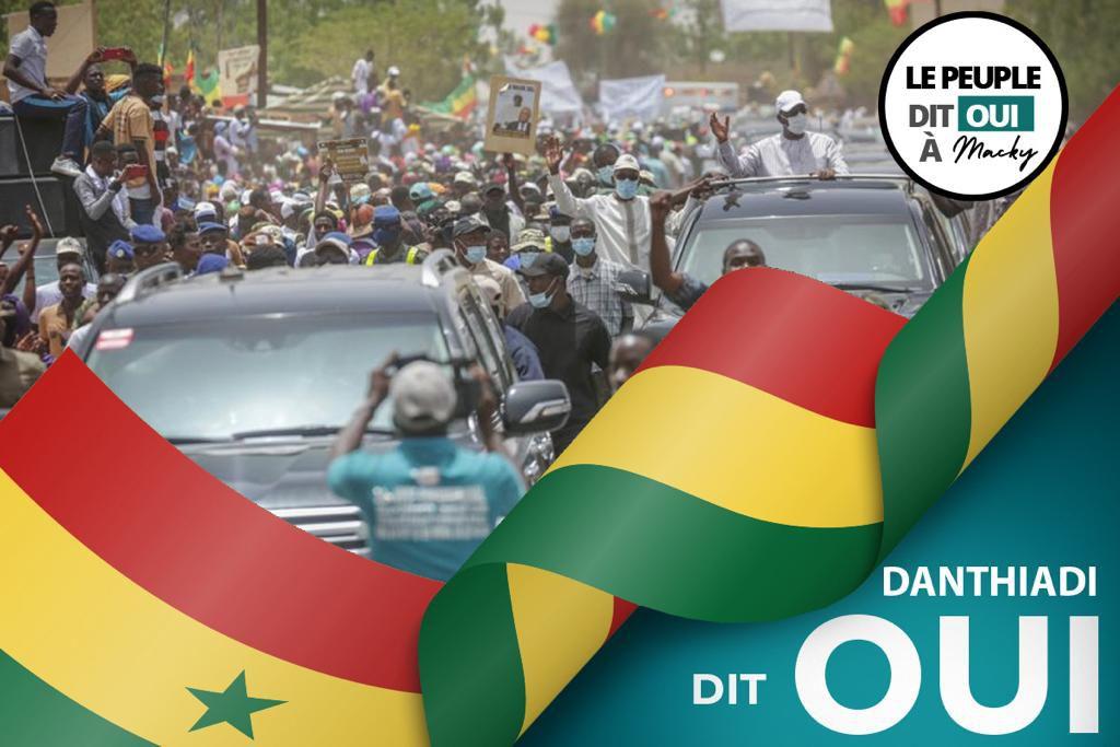 «Le président Macky SALL a accueilli triomphalement, à Danthiady, mon village, dans le N'guénar, Nord du Sénégal» par Amadou Bal BA - http://baamadou.over-blog.fr/