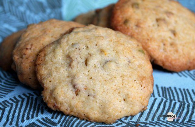 Aujourd'hui c'est cookies : Cookies aux pistaches et aux noix