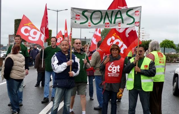 Manifestation du 26 mai 2009.