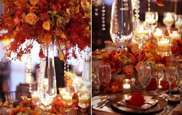 décoration de mariage theme automne