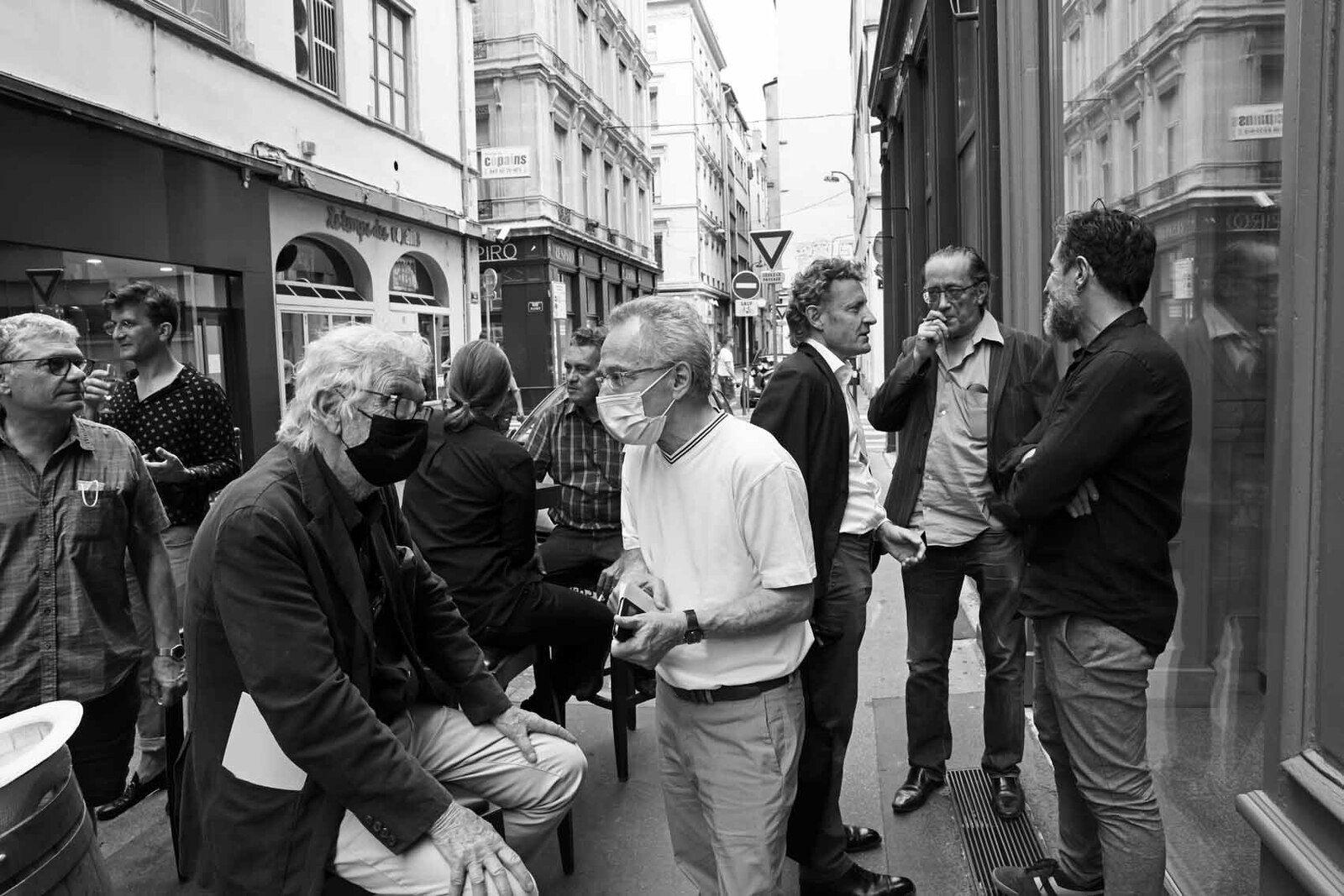Christian Floquet, Loïc Garrier, Pierre Buraglio, Inconnu, Philippe Bouchet, Denis Laget, Franck Chalendard