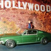 FORD MUSTANG 1968 BULLITT STEVE MC QUEEN CORGI 1/36. - car-collector.net