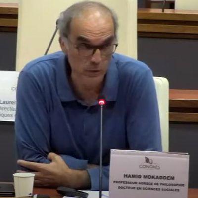 Hamid Mokaddem parle de La littérature irradiée d'Andréas Pfersmann