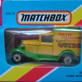 FORD MODEL A MATCHBOX THE TOY COLLECTOR POCKET GUIDE - car-collector.net