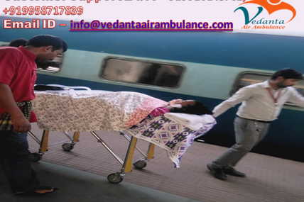 Hypertension old man relocated from Patna to Delhi by Vedanta Air Ambulance
