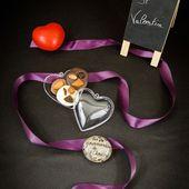 Mendiants aux trois chocolats pour la Saint Valentin - Les gourmandises de Choucha