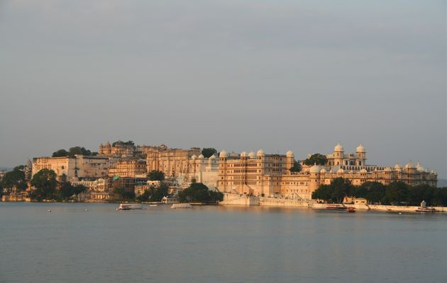 Indes : Rajasthan : Udaipur, le City Palace