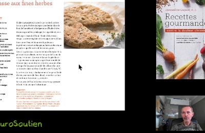 vidéo de présentation du LIVRE: Recettes gourmandes contre la douleur chronique