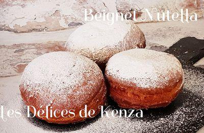 Beignet Fourré Au Nutella