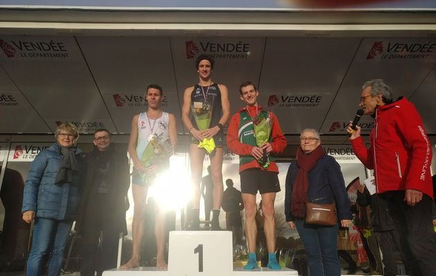 Cross-country: Brice DAUBORD et les juniors filles champions de Vendée