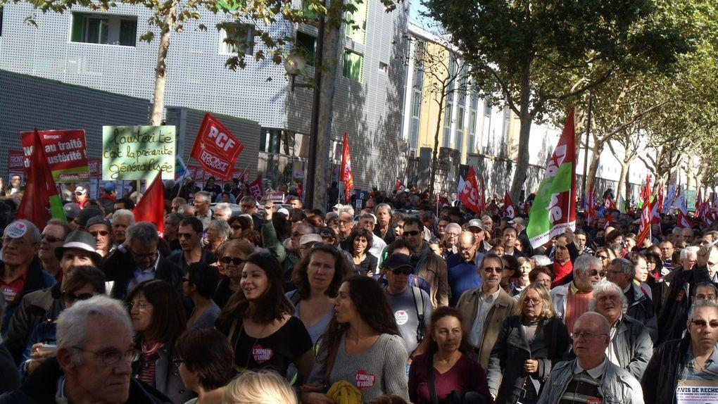 Paris - Non au Traité d'austérité - septembre 2012