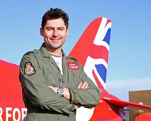 Red Arrows New Tail Design
