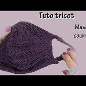 Tuto tricot : Masque couvrant