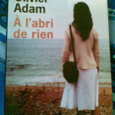"""""""A l'abri de rien"""" un livre bouleversant..."""