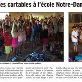 1_Revue de presse Notre Dame - Ecole Notre-Dame Courthezon
