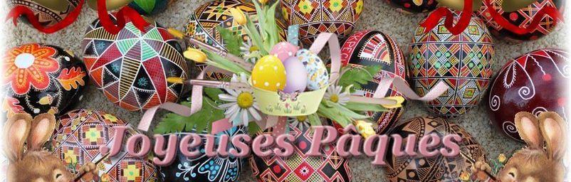 Joyeuses Pâques à tous!