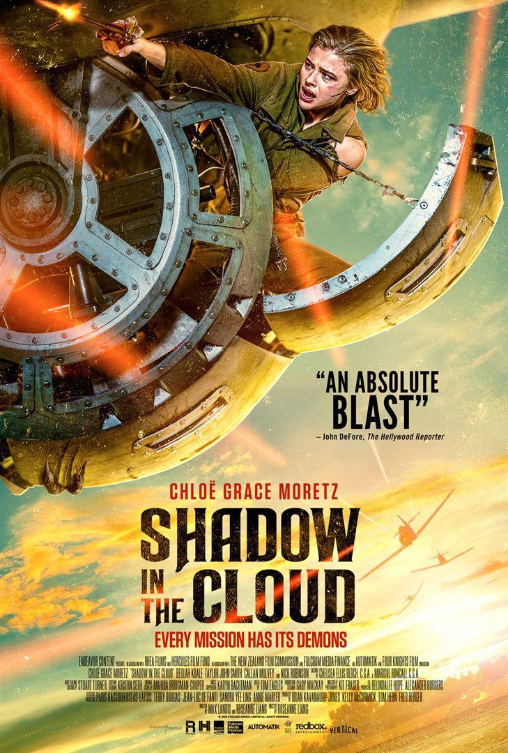 Shadow In The Cloud de Roseanne Liang avec Chloë Grace Moretz, Nick Robinson, Callan Mulvey, Taylor John Smith, Beulah Koale, Byron Coll, Benedict Wall et Joe Witkowski.