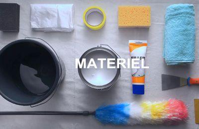 Misterbricolo prépare sa pièce avant de la peindre ...