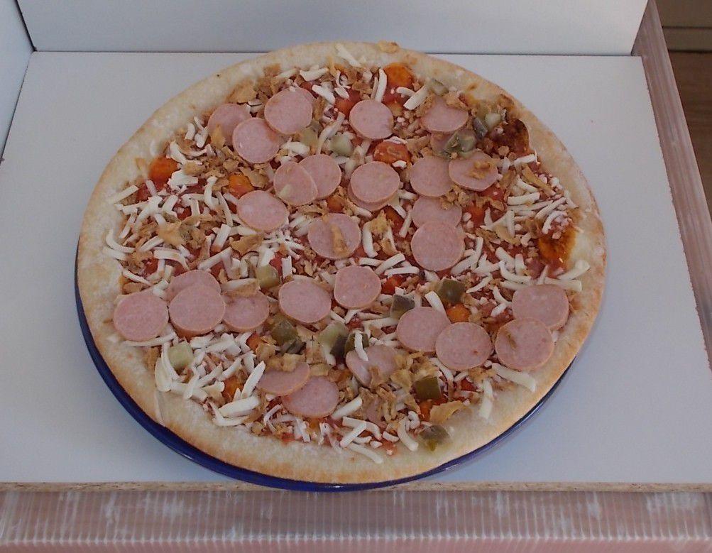 Edeka Gut & Günstig Hot Dog Steinofenpizza