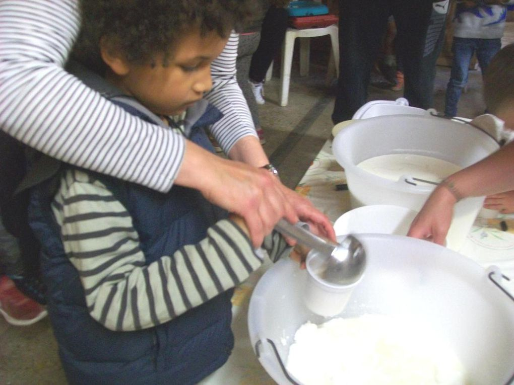 La classe maternelle à la ferme