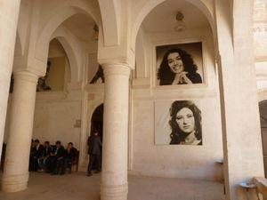 Le centre culturel Mitanni, à Nusaybin. Photos E.C.