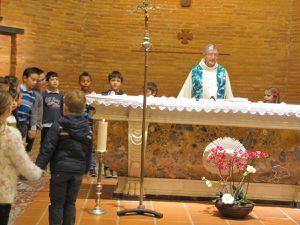 Ce dimanche 15 janvier, une belle messe en famille remplie de joie animée par l' Eveil à la foi et les CE1 !  !