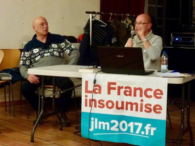 2 décembre : gros succès pour la 1ère rencontre rochelaise avec la France Insoumise !