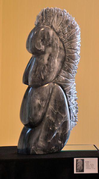 Des photos des sculptures de Brunehilde