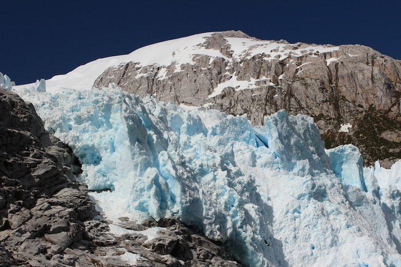 Glaciers PILOTO (le bleu) et NENA (le noir)