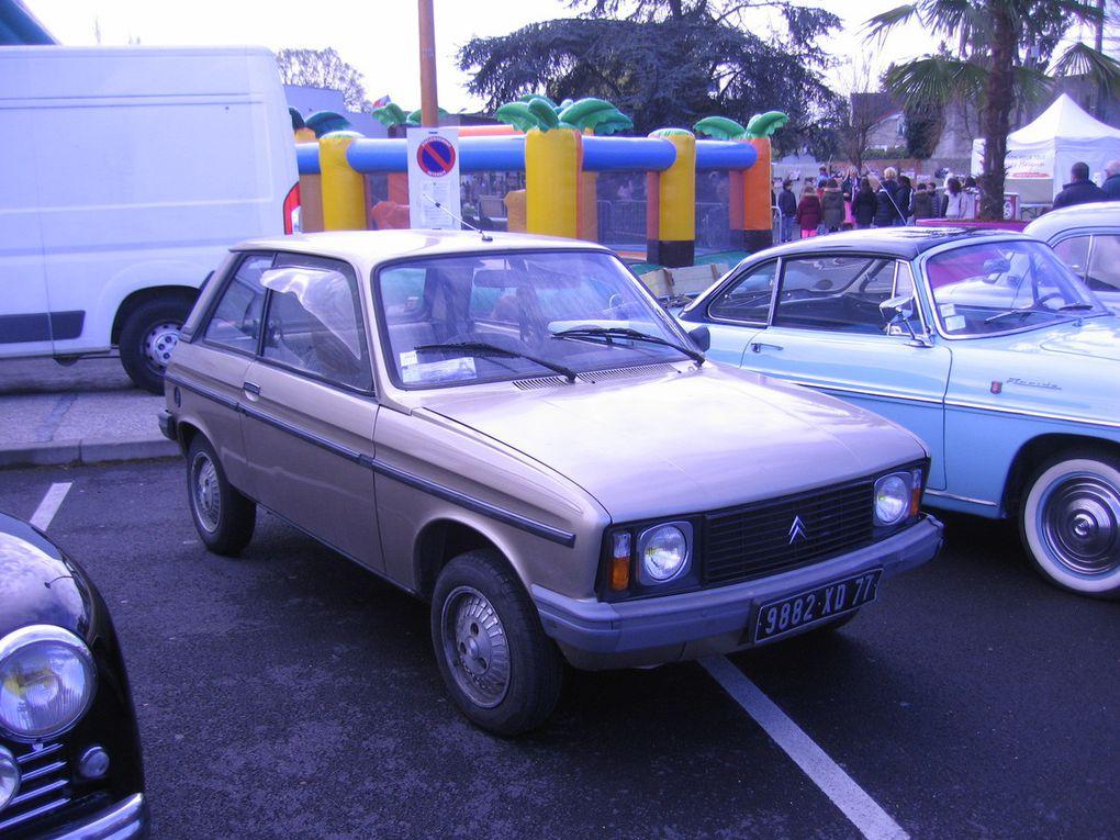 Manif FFMC du 15 avril et Exposition de voitures anciennes et de collection à Villeparisis