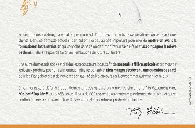 Charline remporte Objectif Top Chef et intègre la future brigade d'Etchebest.