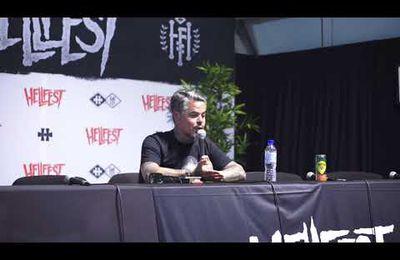 Conference de presse de Ben Barbaud au Hellfest 2018