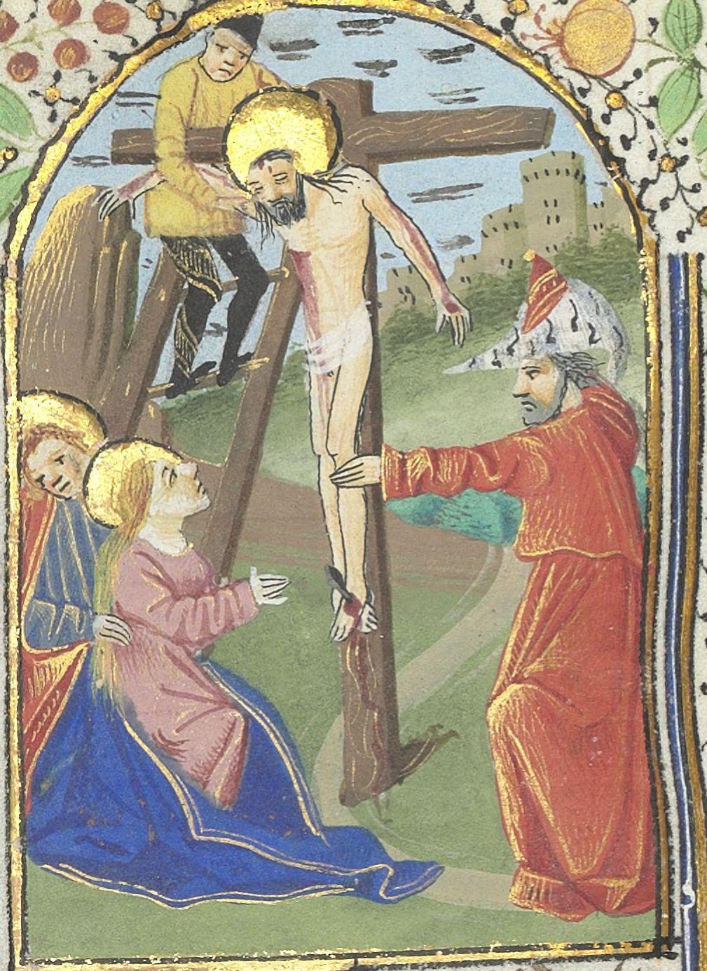 Livre d'Heures d'Isabeau Stuart BnF Latin 1369.  Droits réservés BnF Gallica.