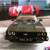 FASCICULE N°21 FORD CAPRI 2.8L 1981 EDITIONS HACHETTE COLLECTION AUTOPLUS 1/43 - car-collector.net
