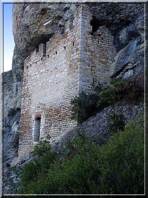 Diaporama château des Anglais - Laroque des Arcs