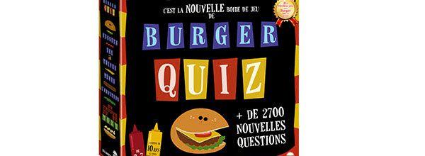 """Après son retour à la télévision, """"Burger Quiz"""" revient aussi en jeu de société"""