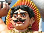 Ayyanar, le dieu protecteur des villages tamouls en Inde du Sud